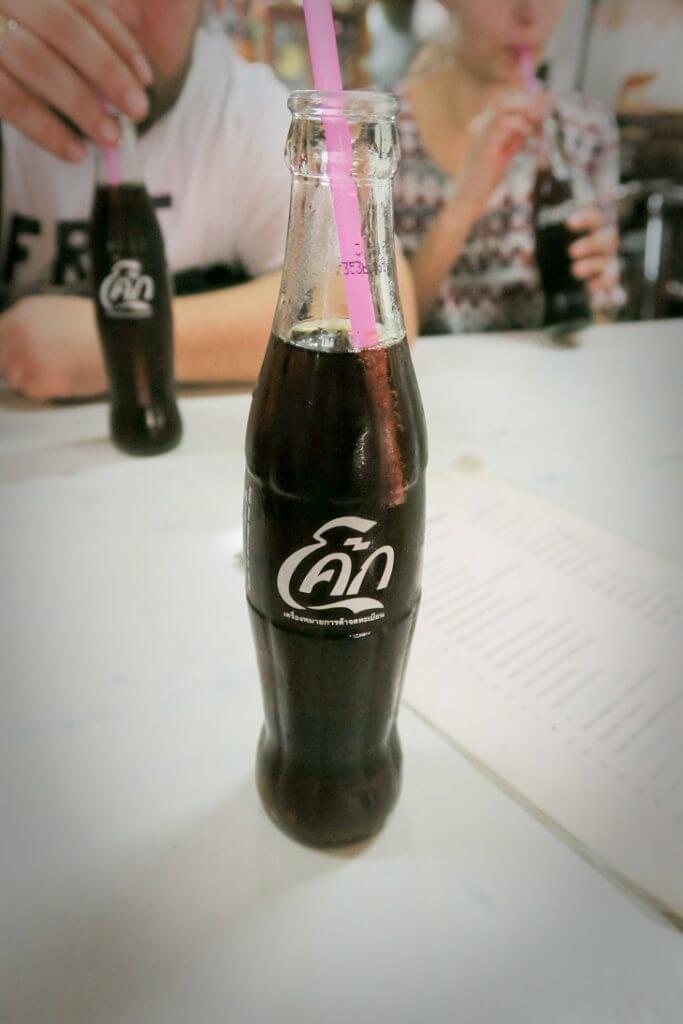Coca Cola Tajlandia - wrażenia z Tajlandii