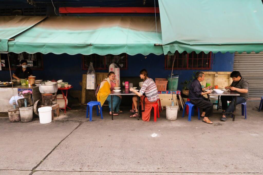 jedzenie Bangkok - Tajlandia - wrażenia z Tajlandii