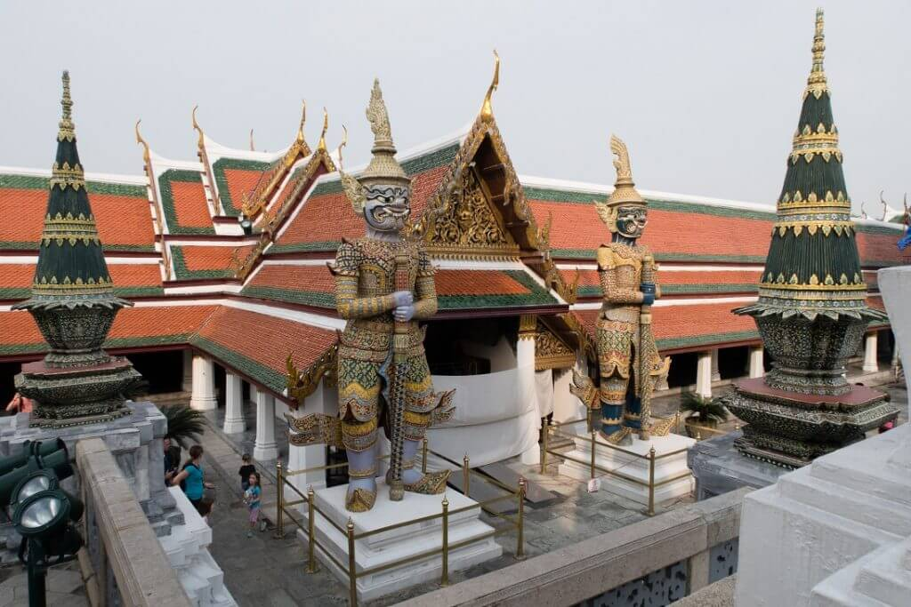 Pałac Królewski Bangkok Tajlandia - wrażenia z Tajlandii