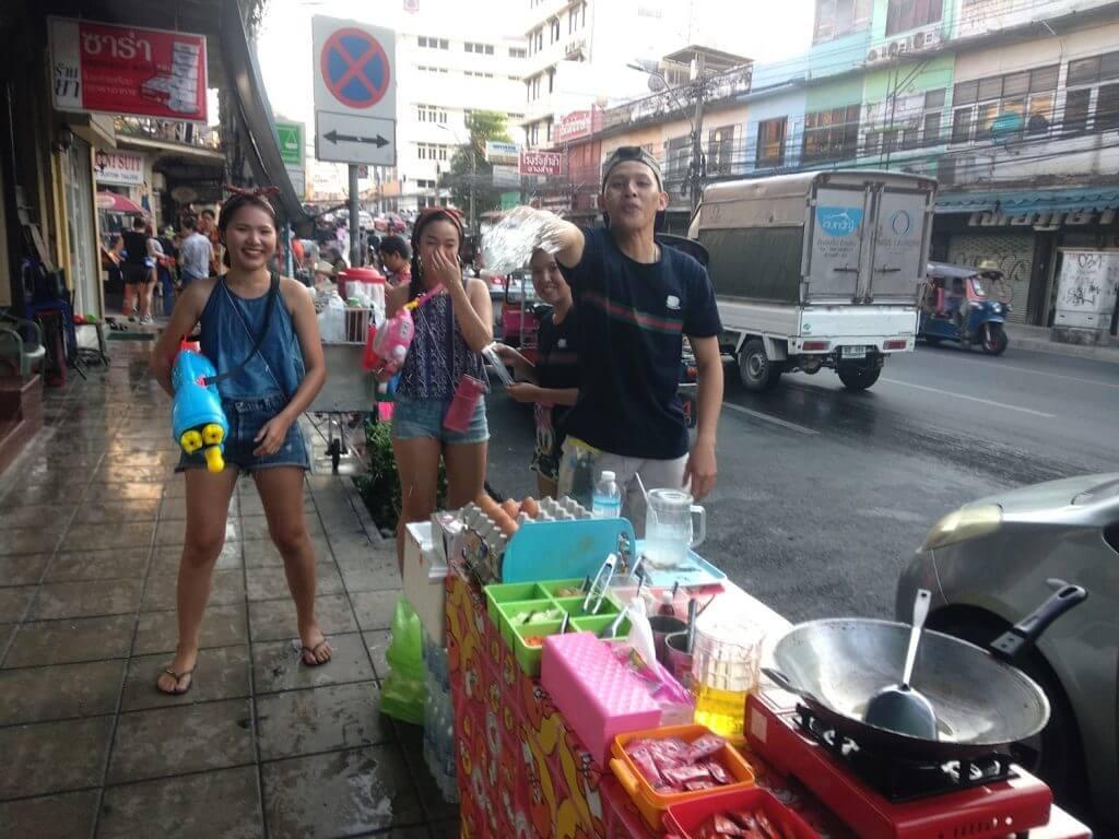 songkran bangkok tajski nowy rok tajlandia