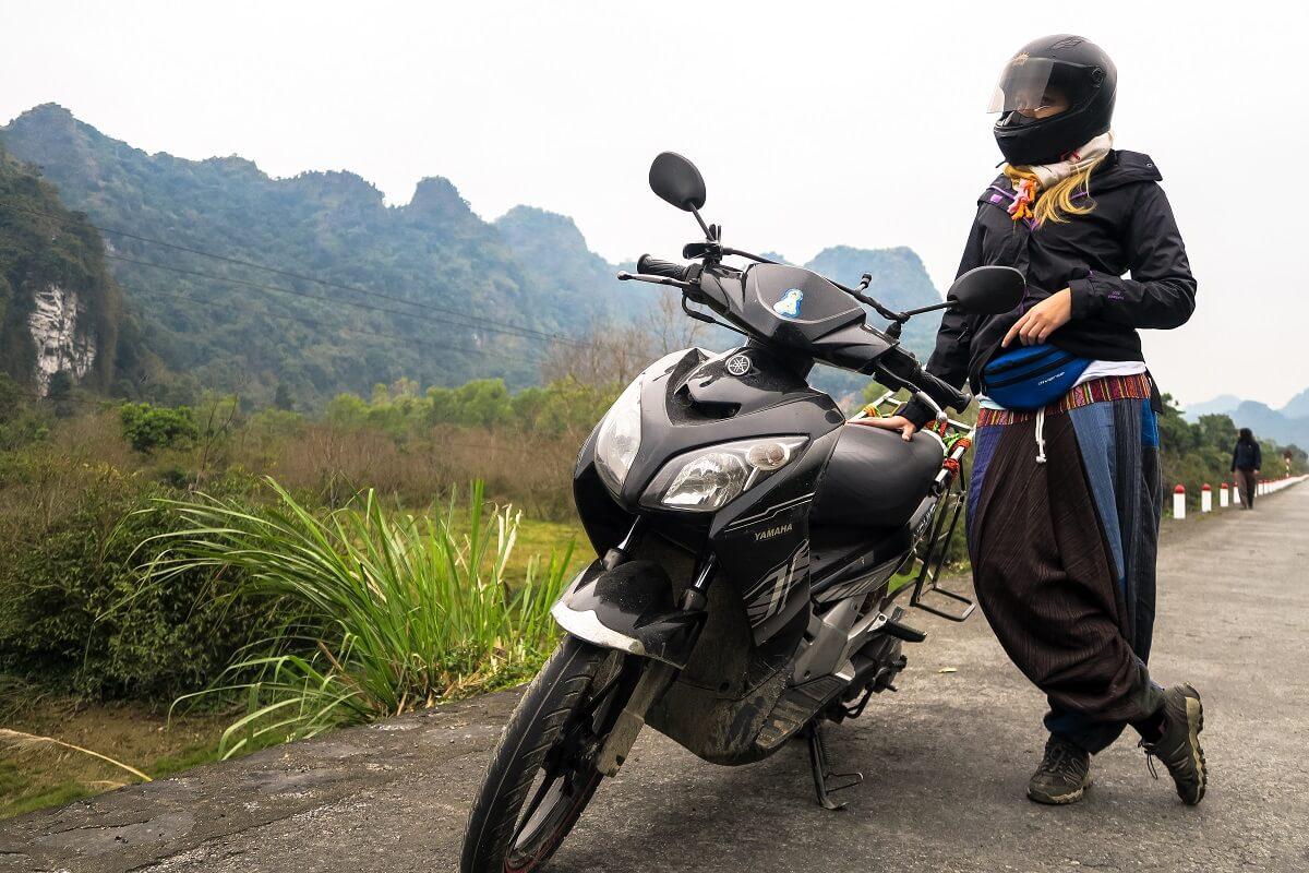 wietnam motocykl skuter hanoi sajgon ho chi minh