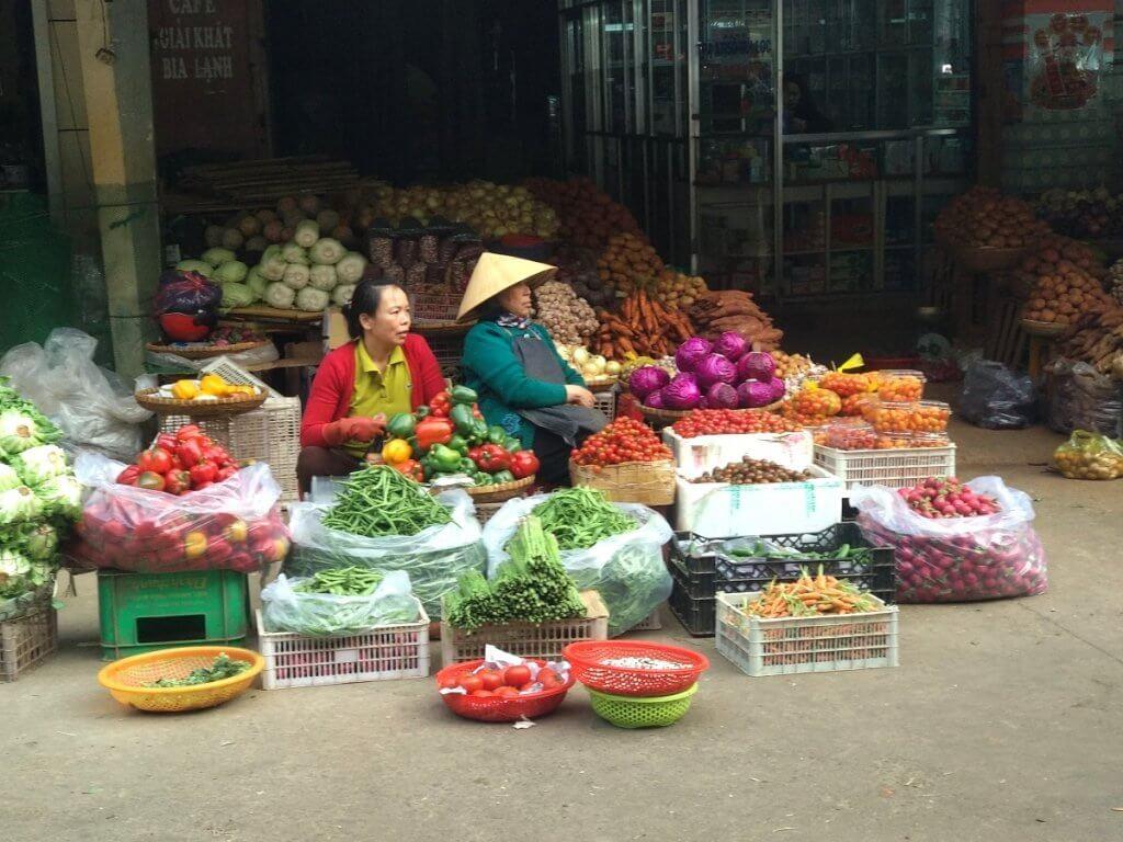 wietnam targ targowisko